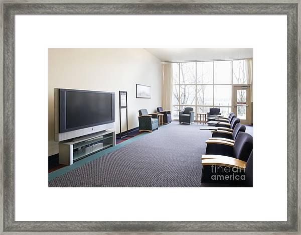 Media Area Framed Print
