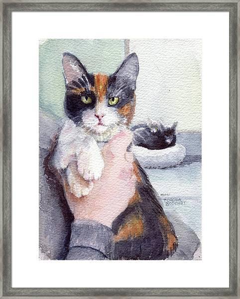 Meggy - Pick Of The Litter Framed Print