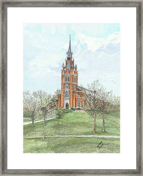 Memorial Chapel  Framed Print