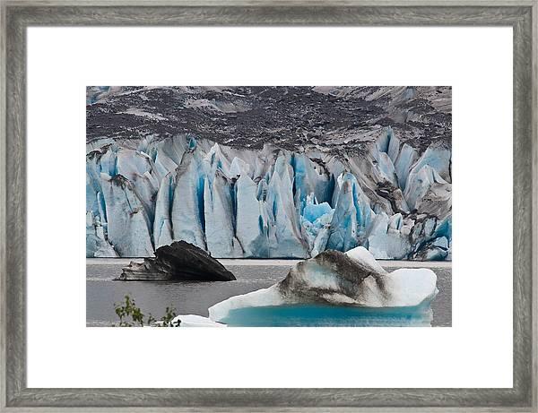 Mendenhall Glacier Juneau Alaska 1698 Framed Print