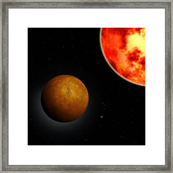 Mercury Framed Print