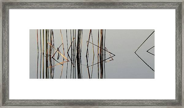 Mirror Lake II Framed Print