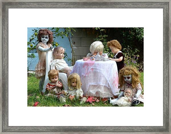 Misfit Tea Party Framed Print
