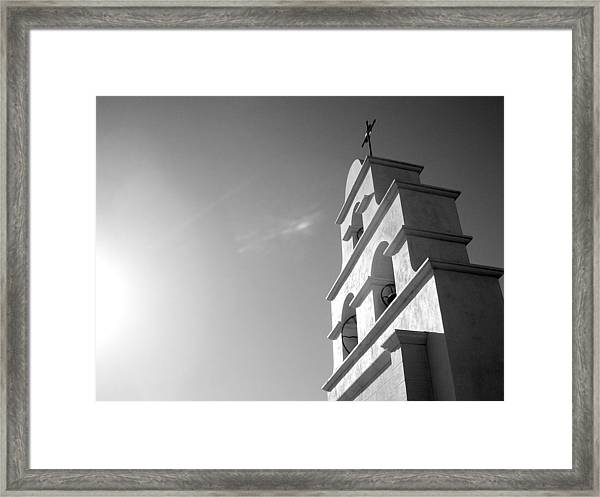 Mission Light Framed Print