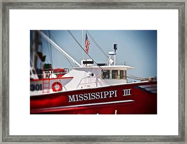 Mississippi IIi Framed Print