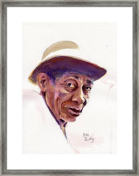 Mississippi John Hurt Framed Print