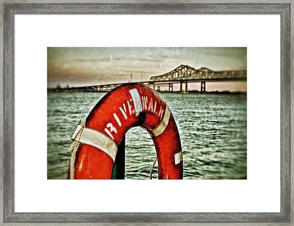 Mississippi River Framed Print