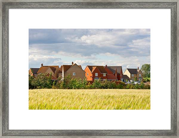 Modern Housing  Framed Print