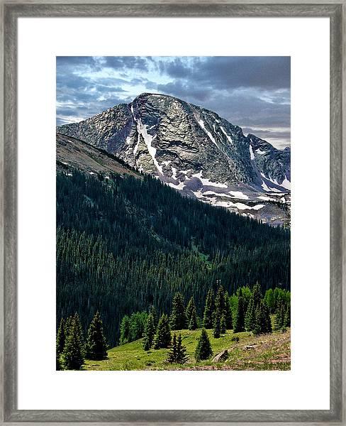 Molas Pass Framed Print