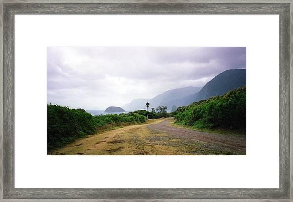 Molokai Coast Framed Print