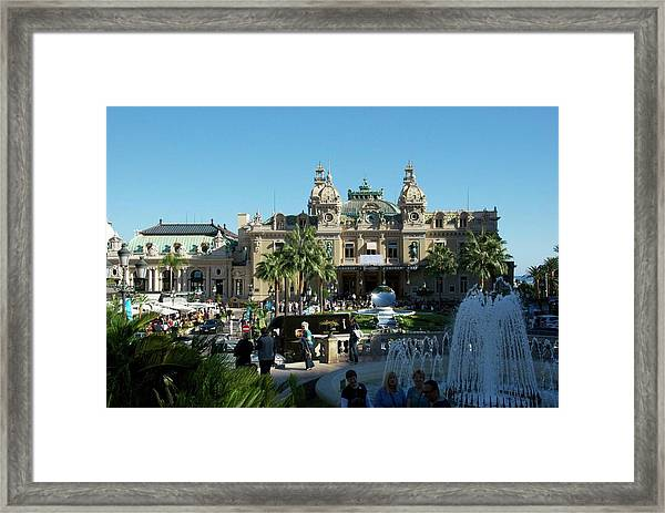 Framed Print featuring the photograph Monte Carlo by Ralph Jones