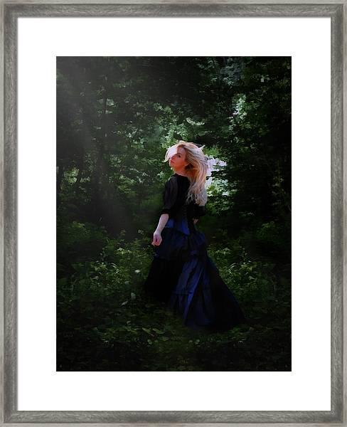 Moonlight Calls Me Framed Print