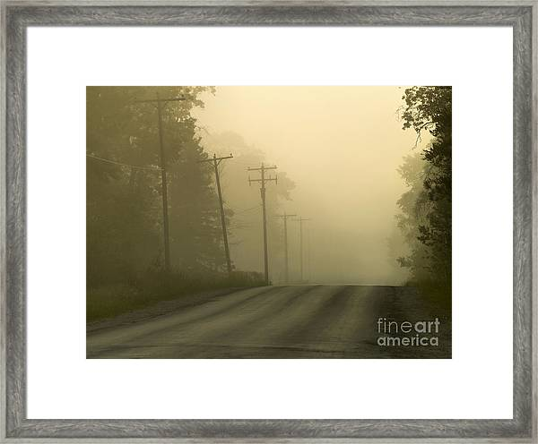 Morning Has Broken Framed Print