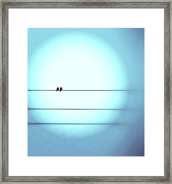 Morning Hopes  Framed Print