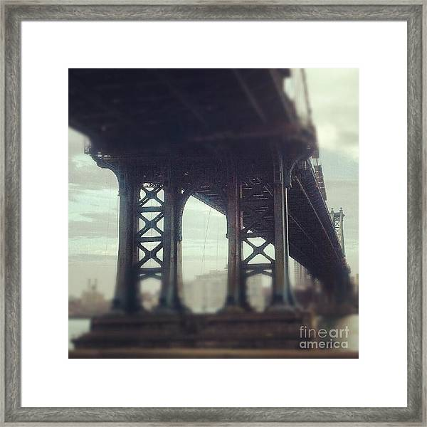 Motion Blur Framed Print
