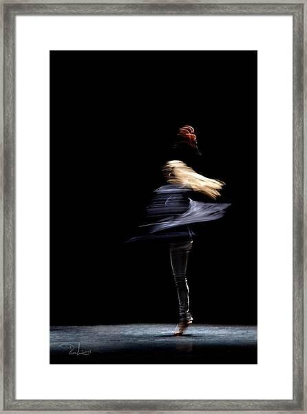 Moved Dance. Framed Print