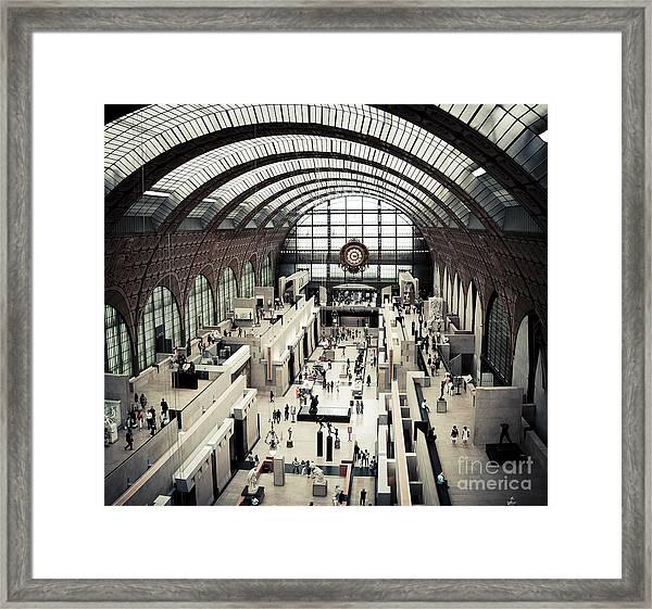 Musee D'orsay II Framed Print