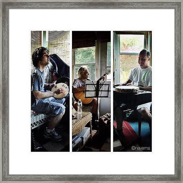 Musicians Framed Print