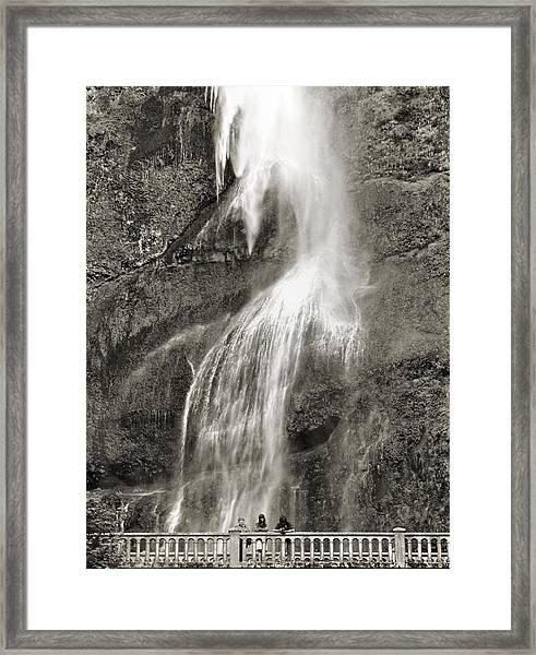 Mutnomah Bridge Threesome Framed Print