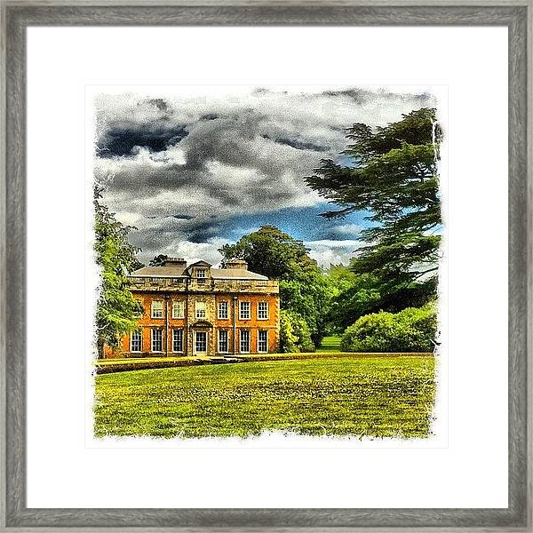 My House Framed Print