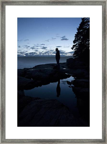 My Reflection Framed Print