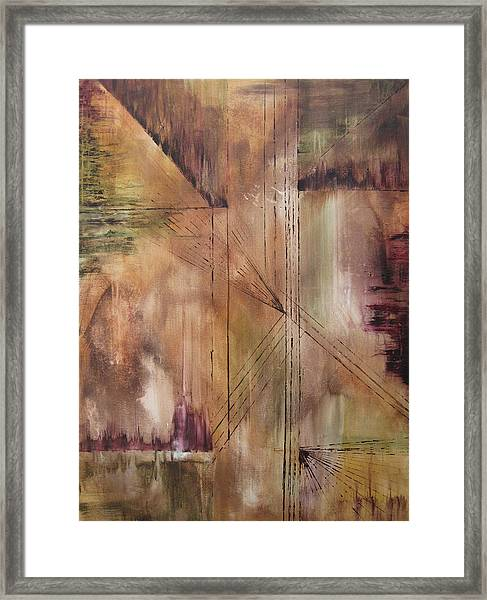 Mystic Reflections Framed Print