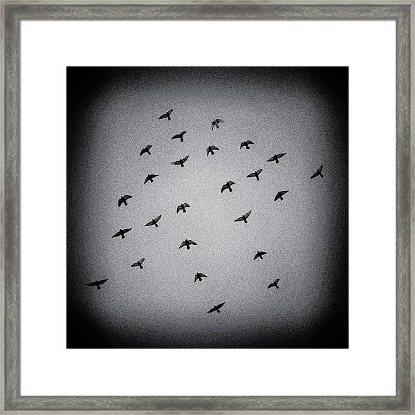 Mystical Formation Framed Print