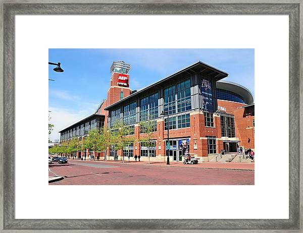 Nationwide Arena Framed Print