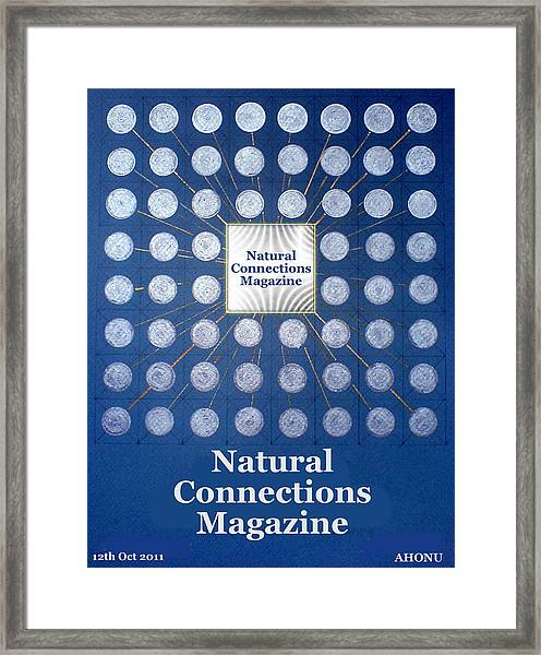 Natural Connections Magazine Framed Print