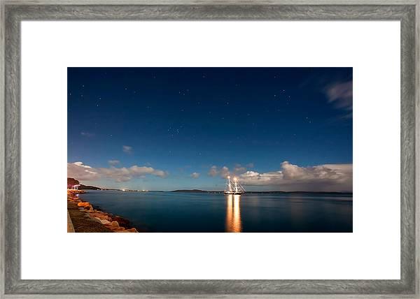 Navigate By The Stars Framed Print