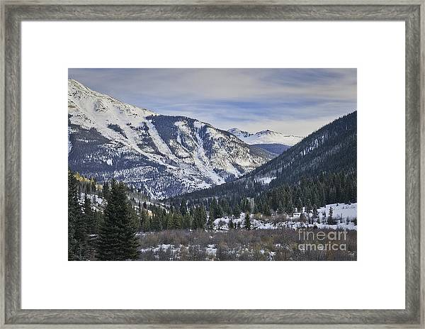 Near Silverton Co Framed Print