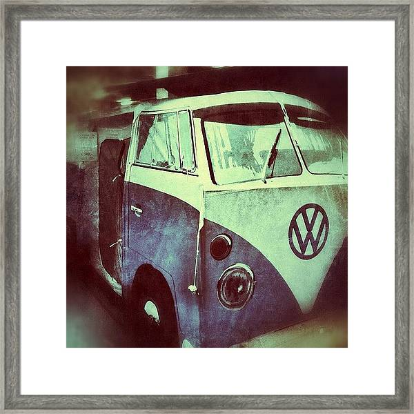 Need A New Tent? Framed Print