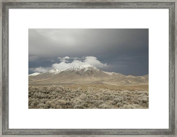 Nevada  Mountain Framed Print