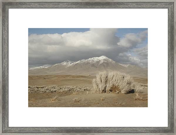 Nevada Scene Framed Print