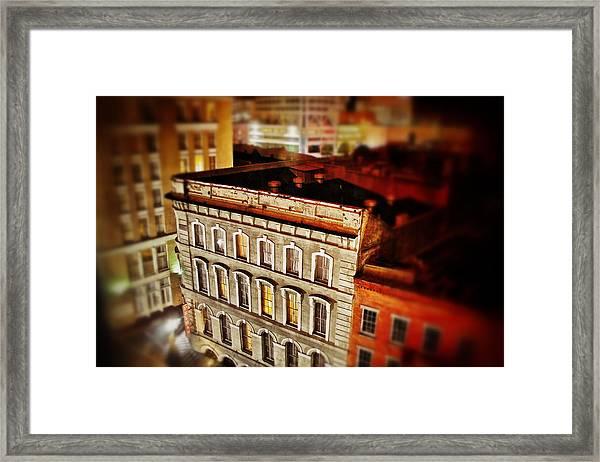 New Orleans Building  Framed Print
