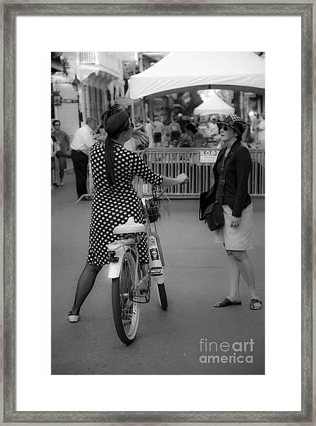 New Orleans Ladies  Framed Print