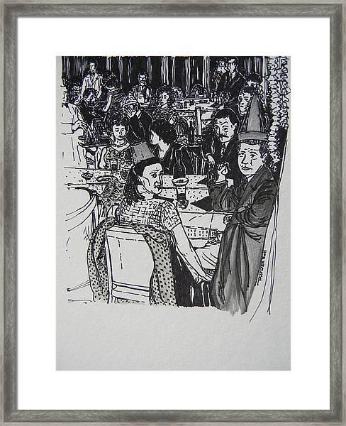 New Year's Eve 1950's Framed Print