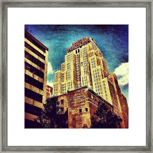 New Yorker Hotel Framed Print
