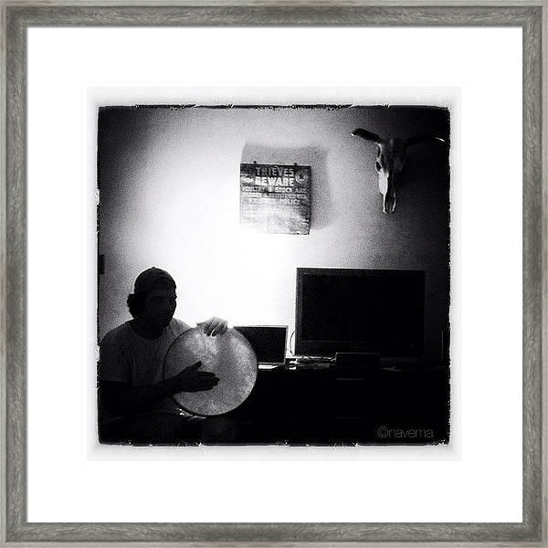 Night Rhythms Framed Print