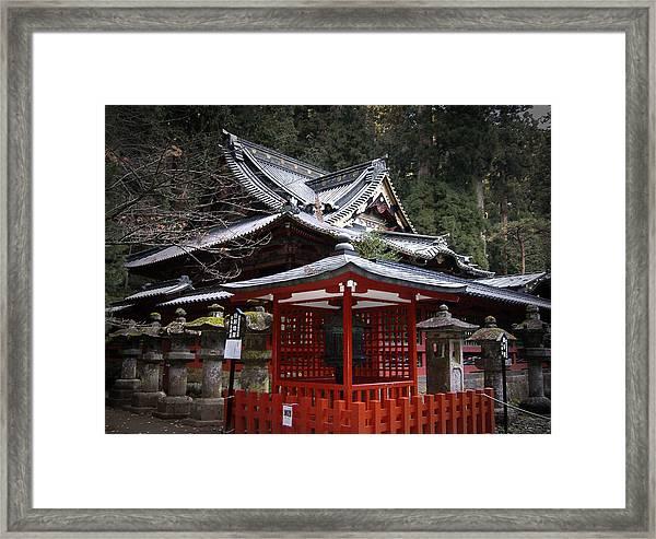 Nikko Monastery Building Framed Print