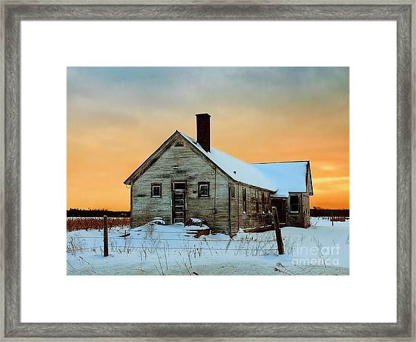 No. 7 County Line Road Framed Print