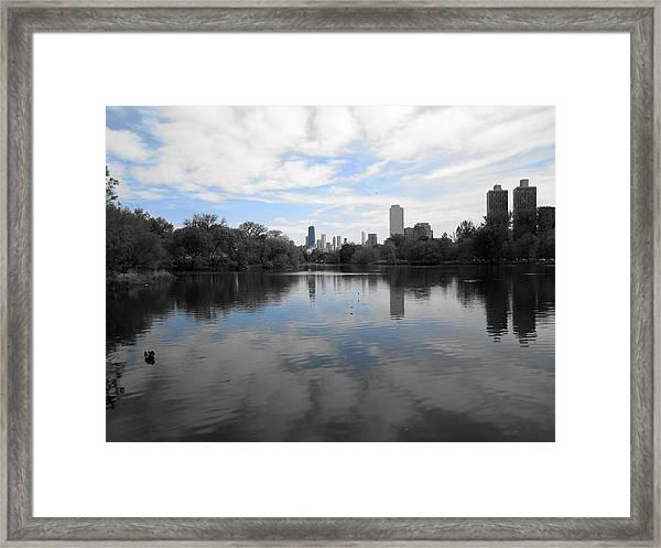 North Pond Framed Print
