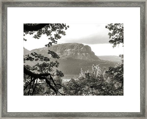 North To Dog Mountain Framed Print