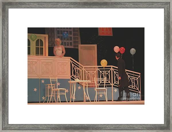 Now In Theater Framed Print by Alisa Tek