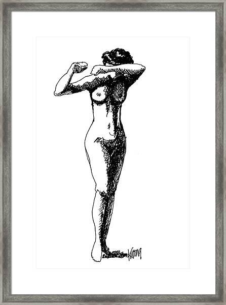 Nude Study 1 Framed Print