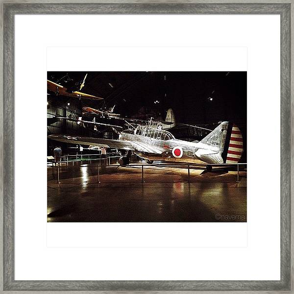 O-47b Observation Aircraft Framed Print
