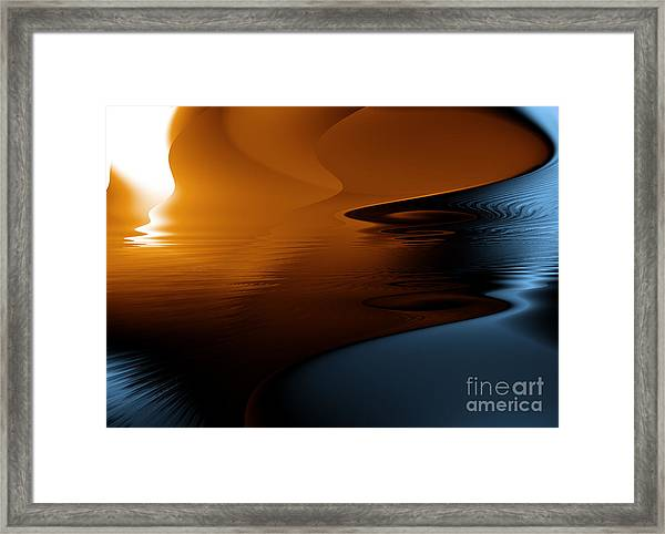 Ocean Byzarre Framed Print