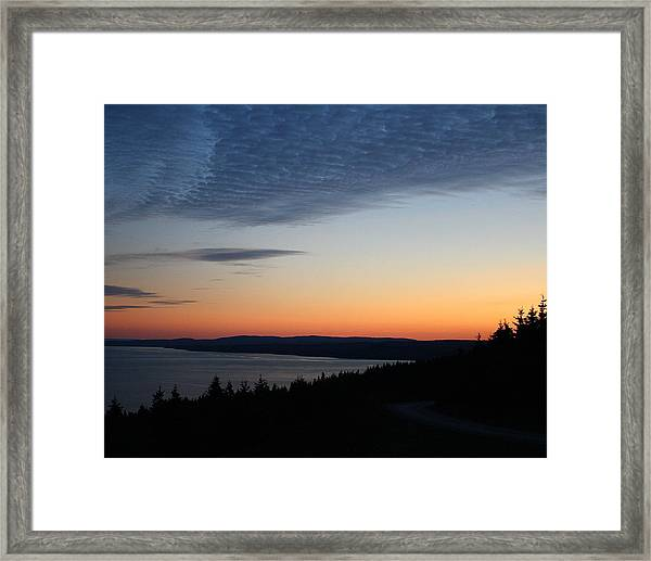 October Summers 610 Framed Print
