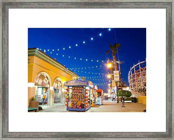 Ode To Youth Framed Print