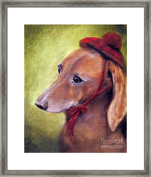 Off To See The Queen Framed Print by Stella Violano